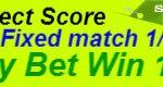 Fixed match,Correct Score
